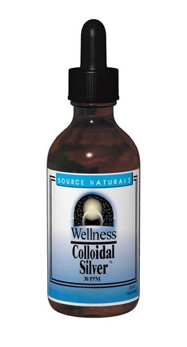 Source Naturals Wellness Collodal Silver 30PPM Stress Support - 4 Fluid Ounces
