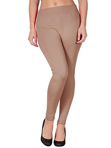 Simplicity Womens Fleece Stretchy Leggings
