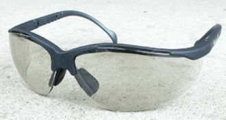 (12 Pair) Pyramex Venture II Glasses Slate Gray Frame/Indoor-Outdoor Mirror Lens (SSG1880S) (Glasses Slate Safety Frames)