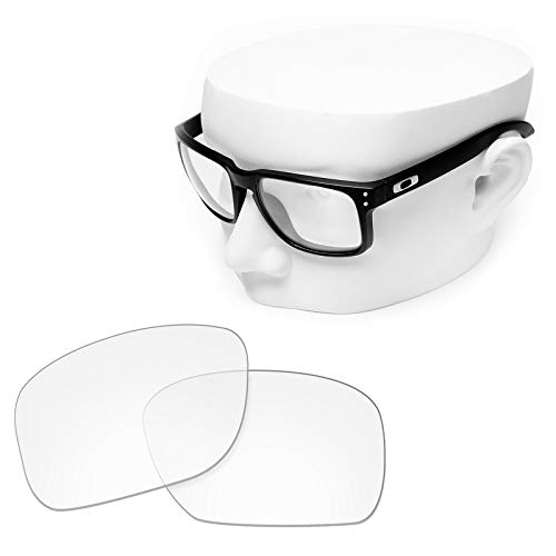 OOWLIT Replacement Sunglass Lenses for Oakley Holbrook HD Clear Non-polarized -