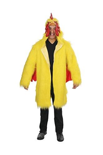 MAGIK COSTUMES Delux Chicken Coat, Yellow