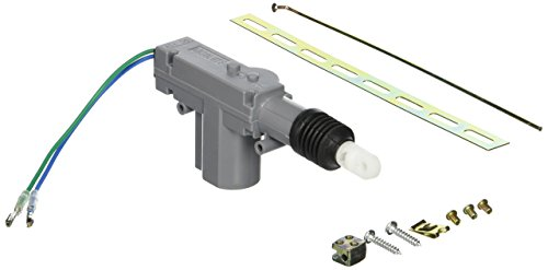 Absolute - Kit de accionador universal de 2 cables para cerradura de puerta de alimentación, gris