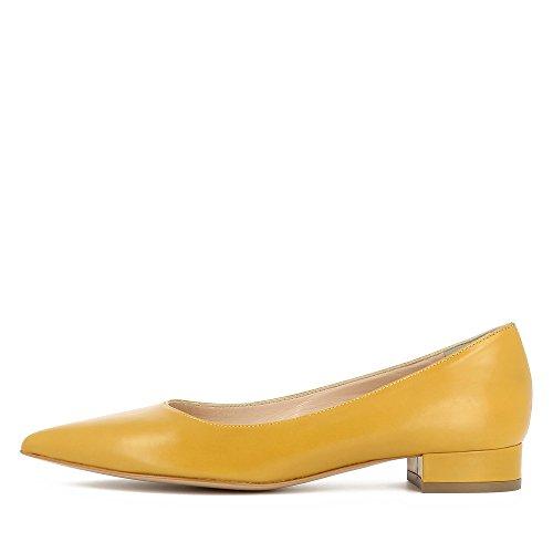 Evita Shoes Franca - Zapatos de vestir de Piel para mujer Ocre