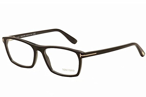 12157f0635 Tom Ford FT5295 Square Black Optical 56 Clear Lens Eyeglasses TF5295 002  New - Buy Online in Oman.
