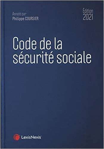 Code de la sécurité sociale (Français) Broché – 20 août 2020