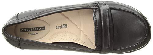 Clarks Us 85 Loafer Leather Women's Black Ashland Lily M SaPwSqr8W