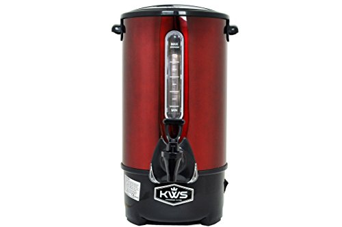 KWS WB-20 15.5L/66Cups Commercial Heat Insulated Water Boiler and ...