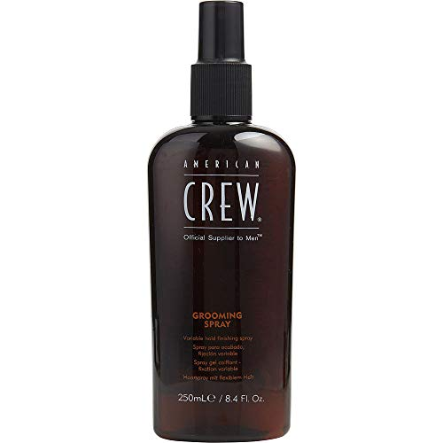 American Crew Grooming Spray for Men, Variable Hold, 8.4 oz Pack of 2