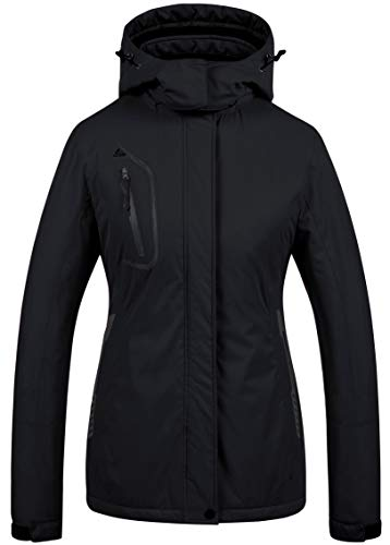 Women's Mountain Waterproof Ski Jacket Windproof Snowboarding Jacket Warm Winter Coat Raincoat