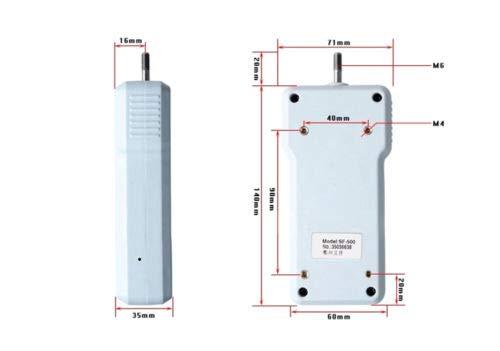 cjc Pressure Tester Meter Digital Push Pull Force Gauge High Precision 0.1N/0.01N/0.001N Digital Dynamometer Pressure Tester (0.001N/5N) by cjc (Image #3)
