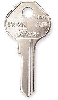 KABA ILCO 997E-Y52 Key Blank,Brass,Type Y52,5 Pin,PK10