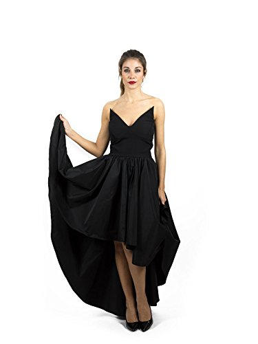 Denny Rose Denny Denny Robe Rose Robe Noir Noir Femme Femme YrgqwY
