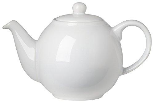 London Pottery Small Globe Teapot, 2 Cup Capacity, White