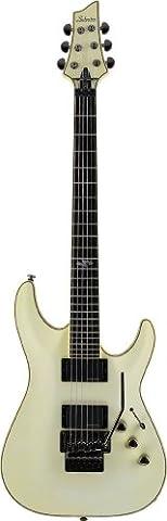 Schecter BlackJack ATX C-1 FR Electric Guitar (Aged White Satin) - Schecter C1 Blackjack