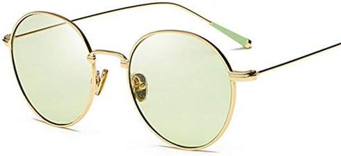 LLLM Gafas de sol Marco de Metal Gafas de Sol pequeñas para ...