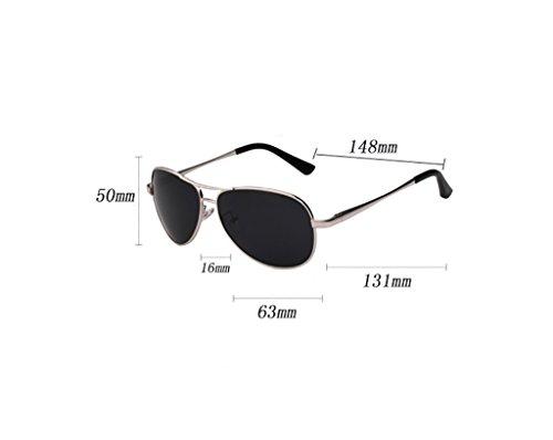Metal Color de Ligero de Sol Marco SunglassesMAN Hombres Deporte los de de Yxsd 4 Gafas conducción de Ultra polarizadas 6 nqppT6g
