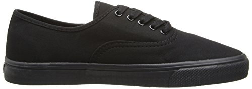 Levis Mens Jordy Buck Fashion Sneaker Nero Mono