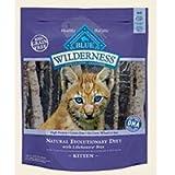 Blue Buffalo Wilderness Chicken Recipe for Kittens Dry Cat Food, My Pet Supplies
