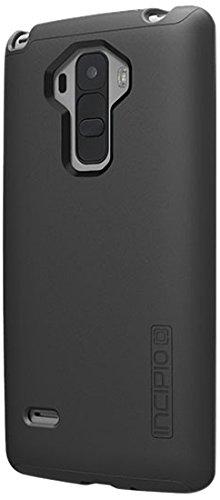 LG G Stylo Case, Incipio [Shock Absorbing] DualPro Case for LG G Stylo-Black/Black