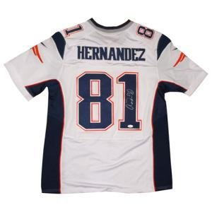 Image Unavailable. Image not available for. Color  Aaron Hernandez  Autographed Jersey 2d346b319