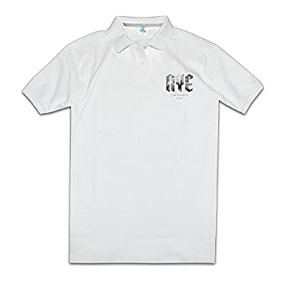 The Chainsmokers New York City Live Mens Sports Print Polo T-shirt
