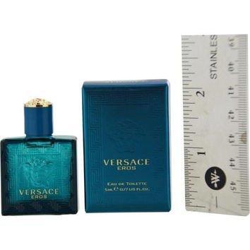 Edt Mens Mini Cologne - Versace Eros by Versace Mini EDT .16 oz (Men)