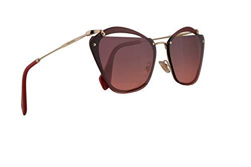 Miu Miu MU54TS Sunglasses Garnet w/Pink Gradient Violet 64mm Lens CCGPZ0 MU 54TS SMU 54TS SMU54T
