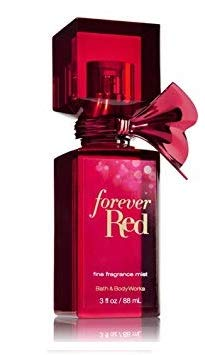 Bath and Body Works FOREVER RED Deluxe Gift Set - Body Lotion - Fine Fragrance Mist - Body Cream - Shower Gel and Travel Size Luxury Fine Fragrance Mist