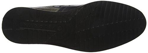 Scarpe 311454013035 Stringate black Uomo Bugatti Derby Nero Grey UCq5ZZaz