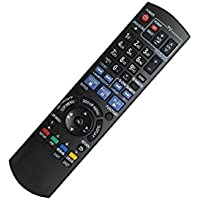 HCDZ Replacement Remote Control For Panasonic DMP-BD70V DMP-BD10A DMP-BD30 Blu-ray DVD BD Player