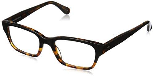 Corinne McCormack Women's Sydney 1013723-200.CMC Rectangular Readers, Black/Tortoise Fade, 59 - Sydney Eyewear