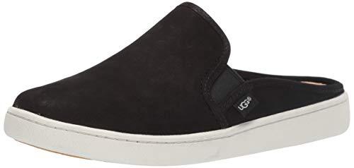 UGG Women's Gene Sneaker, Black, 8.5 M US