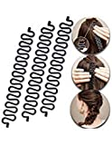 3 Pcs Hair Braiding Tool Roller With Hook Magic Hair Twist Styling Bun...