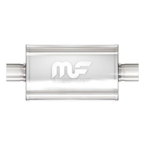 Magnaflow 14149 Race Series Stainless Steel 3 Oval Muffler by Magnaflow -