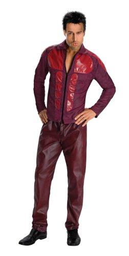Derek Zoolander Costume, Burgundy, (Zoolander Mugatu Costume)