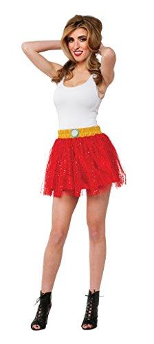 [Rubie's Costume Women's Marvel Universe Adult Iron Man Rescue Costume Skirt, Multi, One Size] (Spiderman Tutu Costume)
