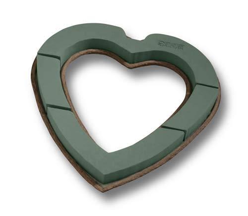 Mache Open Heart Floral Foam MaxLife 2 per Pack, 2 Packs per case (12'')