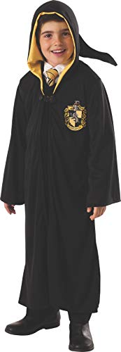 (Rubie's Costume Harry Potter Deathly Hallows Child's Hufflepuff Robe, One Color, Large)