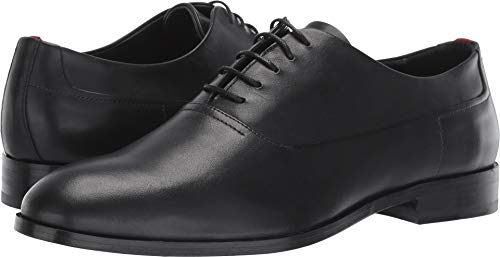 HUGO Hugo Boss Men's Oxford Lace Up Shoes, Black, 10.5 M US