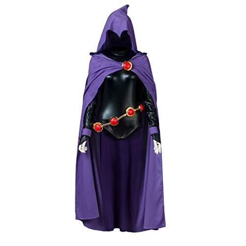CosFantasy Rachel Roth Raven Cosplay Cloak & Jumpsuit mp004071 (Women XS)]()