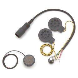 [해외]ケテル: 인터 폰 액세서리 마이크 및 2 스피커 SET 풀 페이스 용 모노 KT005 / Ketel: Intercom Accessory Mic & 2 Speaker set full face mono KT005