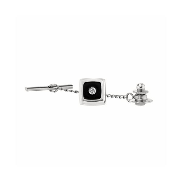 STEL-Stainless-Steel-Diamond-and-Black-Enamel-Inlay-Tie-Tac