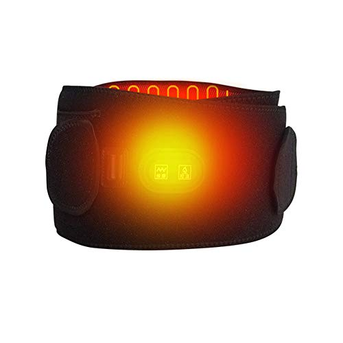 LIBINA - Bandas de calor Parches Abrigo Cintura cinturón Apoyo Caliente, calefacción Baja Espalda Abdomen Fisioterapia...