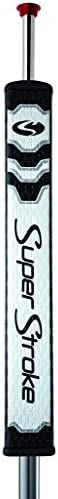 SuperStroke CounterCore Flatso Golf Putter Grip, Black/Blue| Consistent and Reliable Putting Stroke