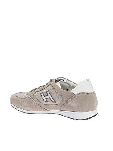 Hogan Hombre HXM2050U670E4U736G Gris Cuero Zapatillas