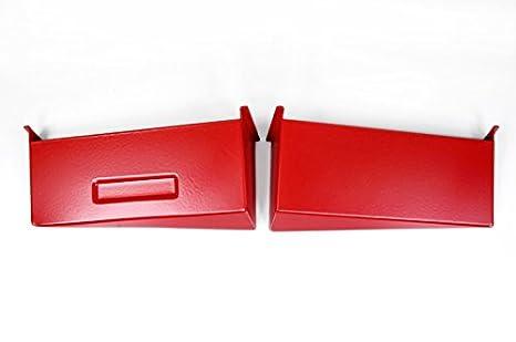 Aluminio Air Scoop Embedded rojo 6 cilindros para BMW E82 E87 E88 125i 128I 130I 135i: Amazon.es: Coche y moto