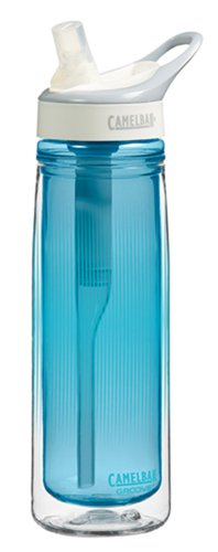 Camelbak Groove Insulated Bottle (Camelbak Groove Insulated Bottles (0.6-Liter/20-Ounce, Aqua))