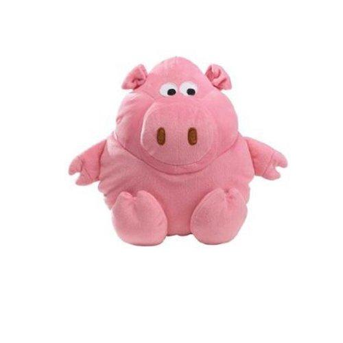 Zanies Plush Barnyard Grunters Dog Toy, Pig