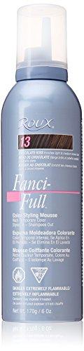Roux Fanci-Full Mousse, 13 Chocolate Kiss, 6 Fluid Ounce