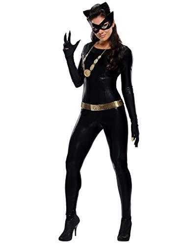 Subtle Halloween Costumes (Rubie's Grand Heritage Catwoman Classic TV Batman Circa 1966, Black, Small)